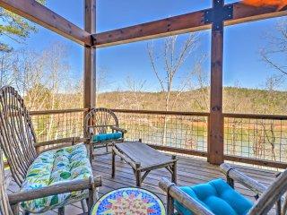 NEW! Lakefront 4BR Blairsville House w/ Sauna!