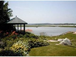 Waterfront home in Goose Cove section of Gloucester