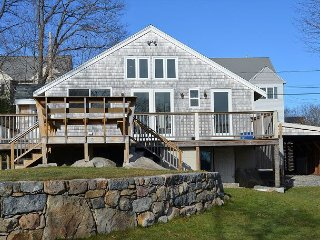 Riverview: Freshly renovated home overlooking the Annisquam River.