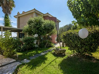Kefalonia Kounopetra Beach Luxury Villa Angelina, 20 from sea ideal for families