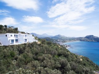 New villa with Incredible sea view, private pool,near  beach and amenities(2), Plakias