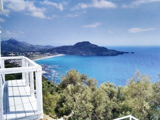 New villa with Incredible sea view, private pool,near  beach and amenities(1), Plakias