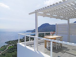 New villa with Incredible sea view, private pool,near  beach and amenities(3), Plakias
