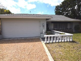 Canal front ground level home with pool, Sanibel Island
