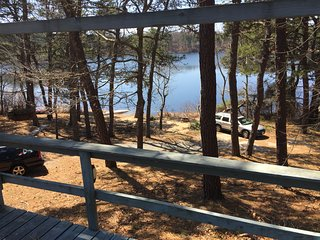 #409: Sip wine on expansive deck overlooking Minster's Pond!