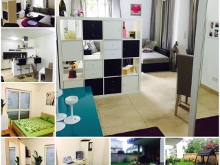 very central 65m2 City-Apartment with a wonderful 180m2 Garden & BBQ