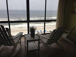 Oceanfront condo with beautiful sunrise and sunset views