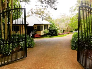 Behind the gates at the end of a quiet leafy lane, yet only 3 minutes walk to cafes and restaurants.