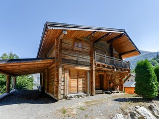 Vaste chalet traditionnel a Mont-de-Lans
