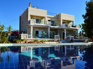 Villa Celeste - Holdiday rental villa for 10 persons (Stavros - Chania - CRETE)