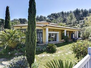 Villa dans la pinède à la Cadière d'Azur