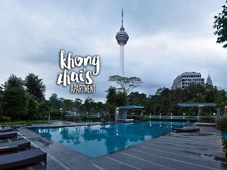 [NEW] Cosy 3BR Amazing KL Tower View Bukit Bintang 市の中心部