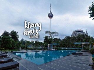 [NEW] Cosy 3BR Amazing KL Tower View Bukit Bintang 市の中心部