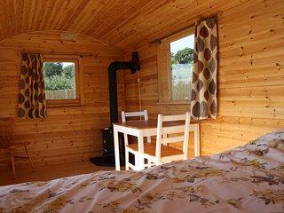 Howfield shepherds huts