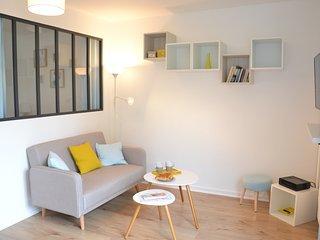 Appartement T1bis 30m² avec parking, proche centre-ville