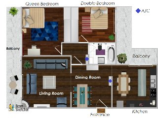Filis Apartment floor plan