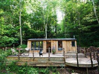 43059 Log Cabin in Abergavenny, Pantygelli