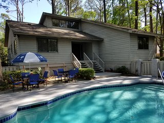 BEAUTIFUL SEA PINES HOME- NEAR OCEAN LOCATION- LARGE POOL-  GREAT SPRING RATES!