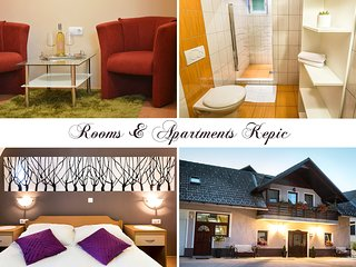 Cozy room for two people near the airport, Cerklje