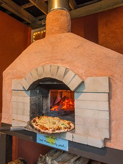 Pizza Oven at The Lodge.