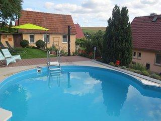 Pool im Garten