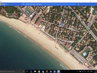 Bungalow aire acondicionado junto al P0 maritimo de la playa La Barrosa