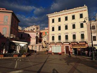 Appartamento centro storico con vista mare