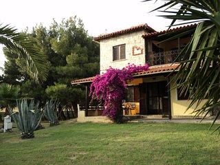 Villa Anastasia, Xiropotamo, Ierissos, Chalkidiki, big yard, close to sea