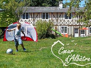 Cœur d'Albâtre : le Puits , golf à 500m, jardin plein sud