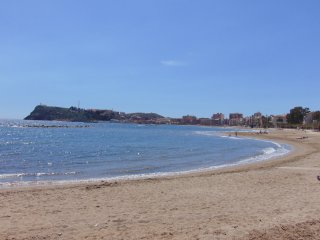 Excellent apartment in Puerto de Mazarron, 1 minute from the beach