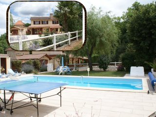 villa avec piscine, Vergt
