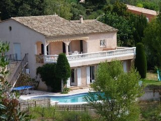 Exclusive Villa in Quiet Hills behind Cannes, Fabulous Infinity Pool