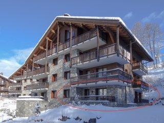 Luxury 2 Bedroom Ski Apartment, St Martin de Belleville