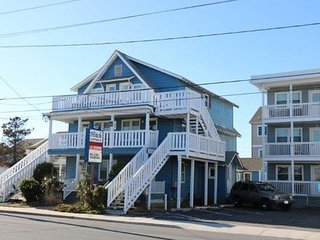Hitch, 2.5 blocks to Beach & Boardwalk-Pet friendly!!, Ocean City