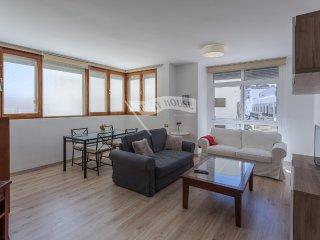 Luminoso apartamento céntrico cerca del mar