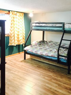 kids room with 2 triple bank beds (2nd fl)