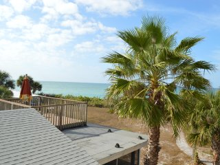 Beach Front Condo w/ Beautiful Panoramic Views of the Gulf. No street to cross!