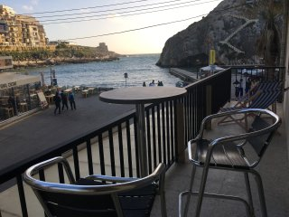 Beach Studio Apartment in the Heart of Xlendi Bay!