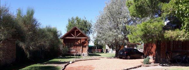 rincon de cacheuta, complejo de cabanas totalmente equipadas para 4 o 5 personas