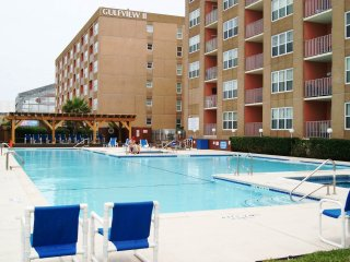 Gulfview I #110 2-3 MINUTE WALK TO BEACH ACCESS, NEXT TO SCHLITTERBAHN WATERPARK