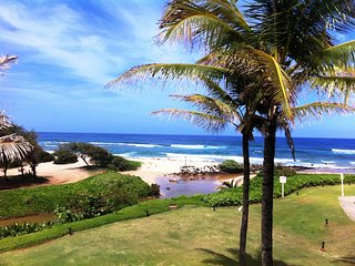 SEE, HEAR OCEAN! BEACHFRONT, OCEAN VIEW. BEST RATE!  (LAST MINUTE DISC 6/3-6/10), Lihue