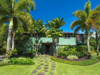 Updated Hanalei Home, walking distance to Hanalei Bay!