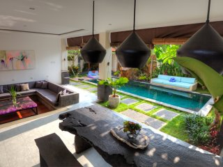 Sparkle villa 4 BR overlooking paddy's view Canggu
