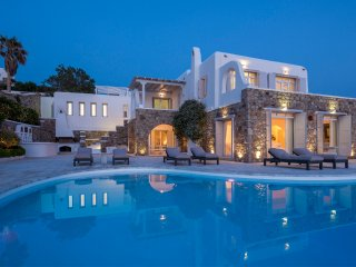 8 Bedroomed Villa With Private Pool&Sea view In Mykonos,Greece-260, Mykonos Town