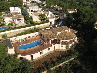 Ferienhaus mit Pool an der Costa Blanca