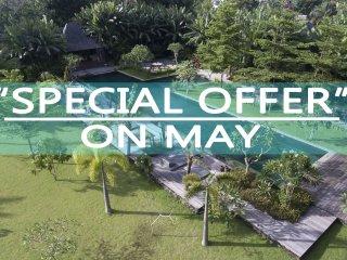 Serenity River Estate Villa, 6 Bedroom, feaute pool and gardens, chef, Canggu