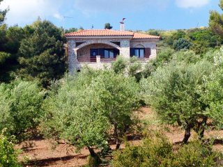 Olive Grove stonemade Residency w/ panoramic view.