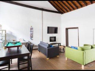 Casa ideal en Tenerife para niños y mascotas.