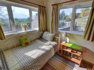 The bed sitting room offers plenty of light through dual aspect windows