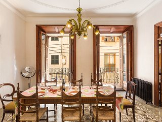 Palma Old town apartment with patio 5 pers